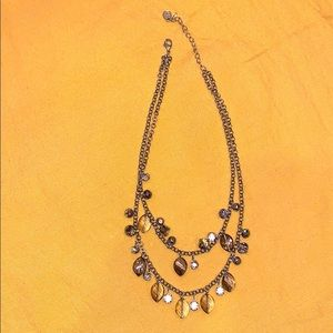Double layer very cute necklace